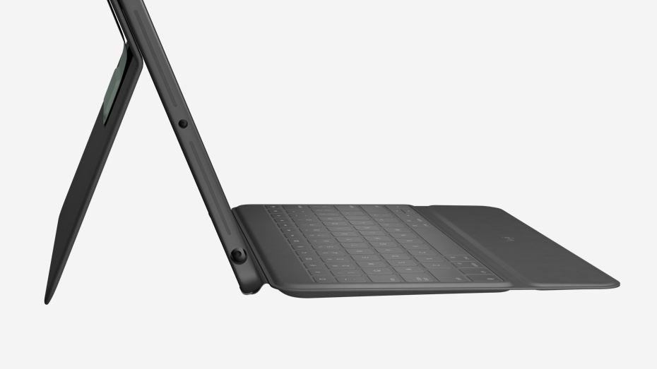 Logitech Rugged Folio Keyboard cover for iPad 10.2 tommer