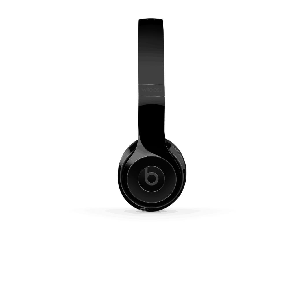 Beats Solo3 Wireless – Glanset Svart