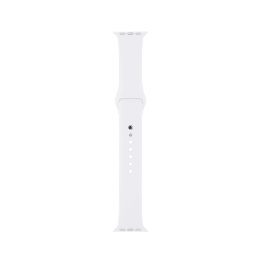 Sport Band i Hvit for 38 mm Apple Watch