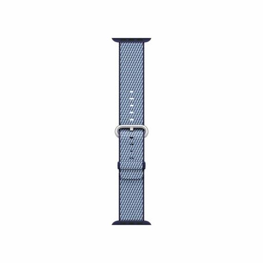 Vevet nylonrem i Midnattsblå (rutete) for 38mm Apple Watch