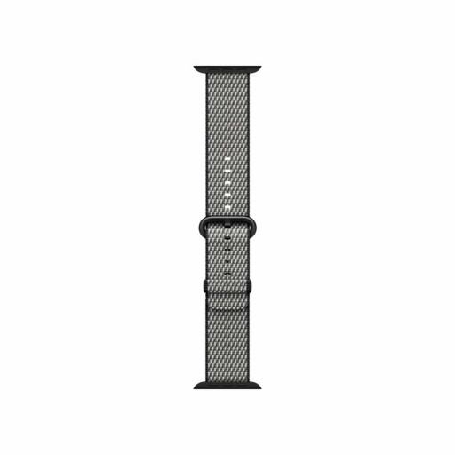 Vevet nylonrem i Svart (rutete) for 38mm Apple Watch
