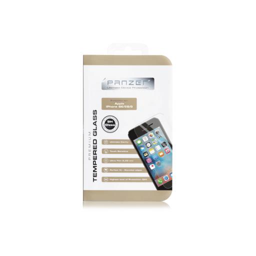 Panzer Temperert Glass skjermbeskytter for iPhone SE (2016/2017) / 5S / 5 / 5C