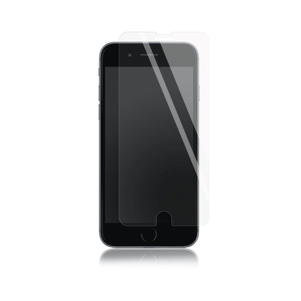 Panzer Silikatglass skjermbeskytter for iPhone 7 Plus/8 Plus