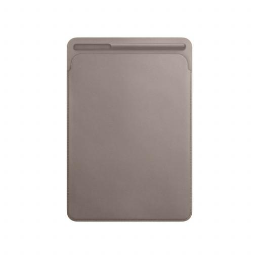 Leather Sleeve til 10,5-tommer iPad Pro – Muldvarpsgrå
