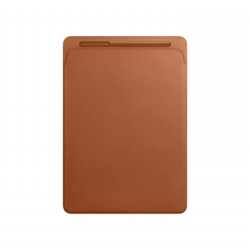 Leather Sleeve til 12,9-tommer iPad Pro 1/2 gen – Lærbrun