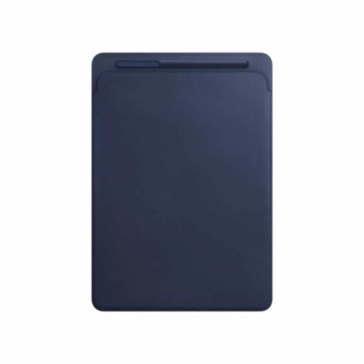 Leather Sleeve til 12,9-tommer iPad Pro 1/2 gen – Midnattsblå