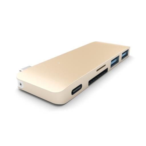 Satechi Type-C Pass Through USB Hub – Gull