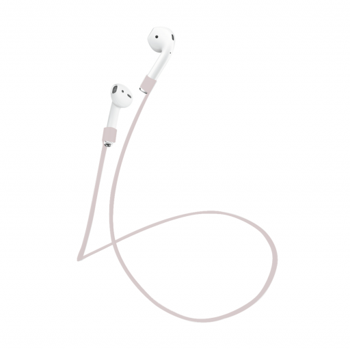 Puro Magnetisk silikonbånd for AirPods - Rosa
