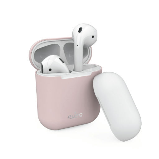 Puro Silikon-etui for AirPods - Rosa
