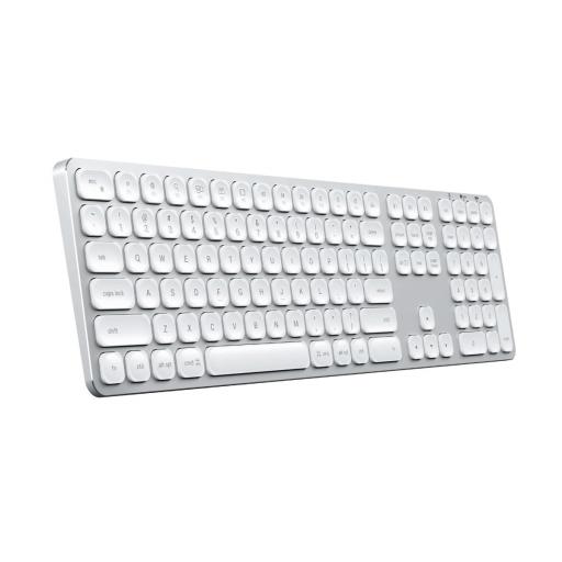 Satechi trådløst tastatur Nordisk - Sølv