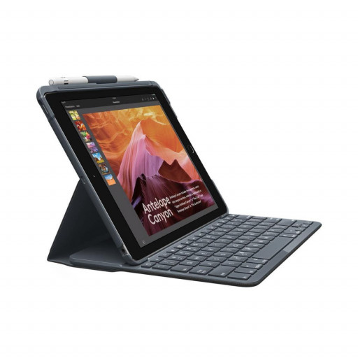 "Logitech Slim Folio Keyboard cover - iPad 9.7"" 2017/2018"