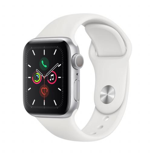 Apple Watch Nike Series 5 GPS 44mm Aluminium i stellargrå med AnthraciteBlack Nike Sport Band