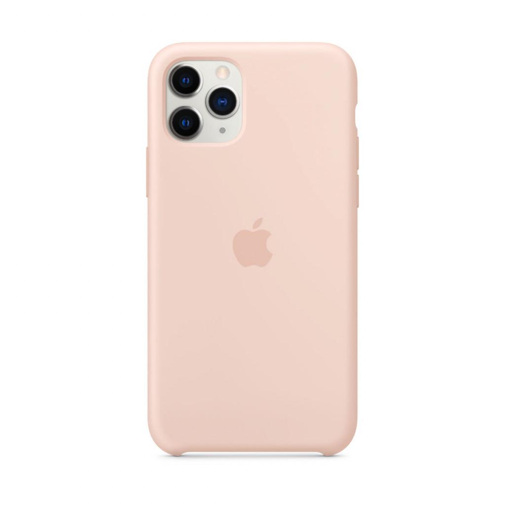 Apple Silikondeksel til iPhone 11 Pro - Sandrosa