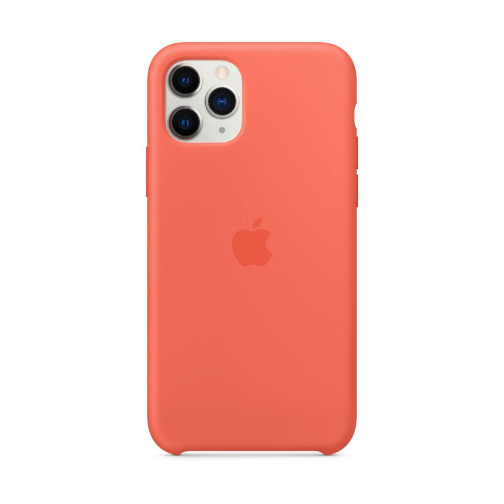 Apple Silikondeksel til iPhone 11 Pro - Klementin (oransje)