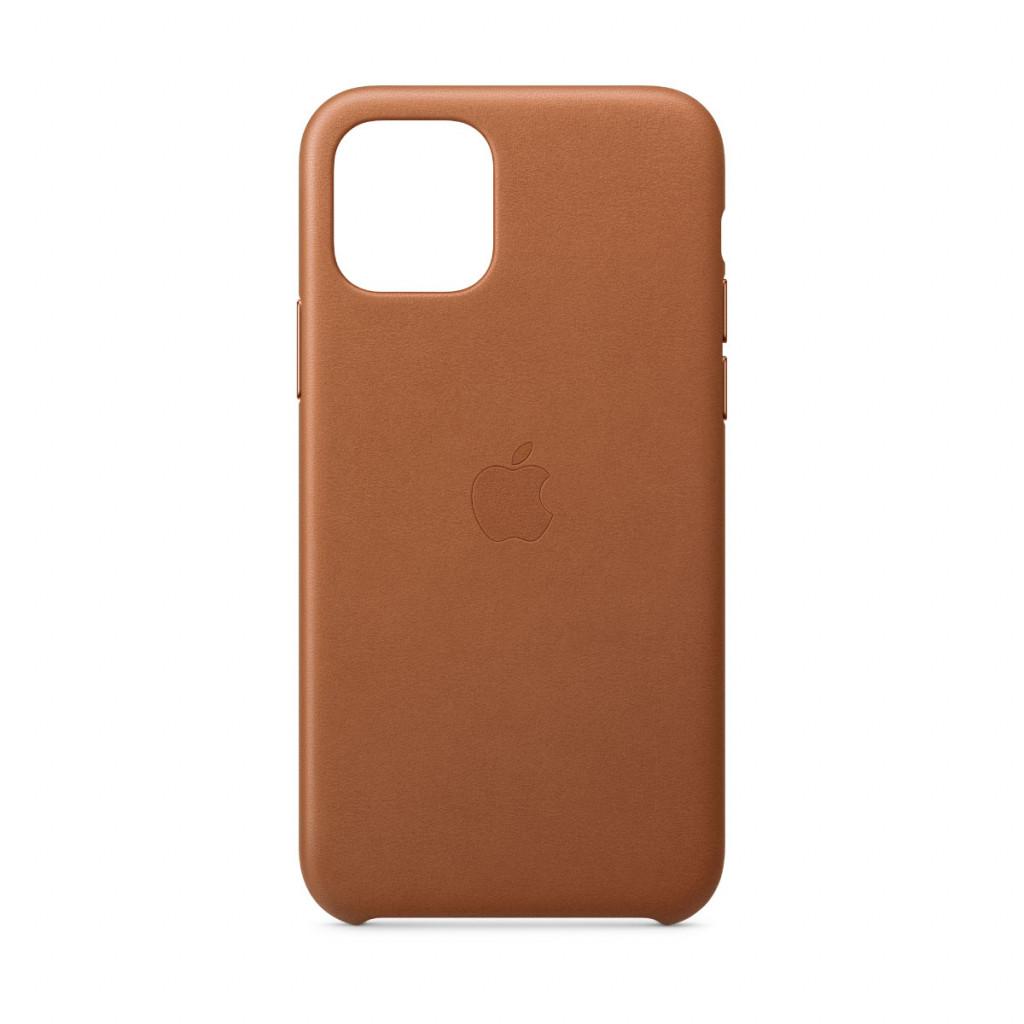Apple Skinndeksel til iPhone 11 Pro – Lærbrun