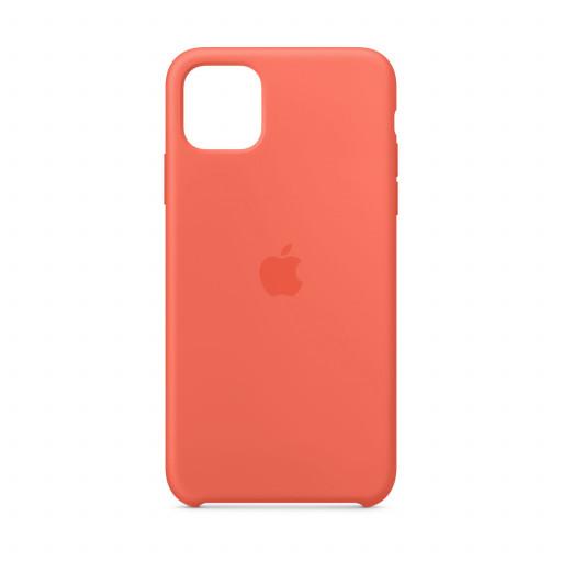 Apple Silikondeksel til iPhone 11 Pro Max - Klementin (oransje)
