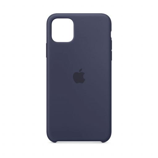 Apple Silikondeksel til iPhone 11 Pro Max - Midnattsblå