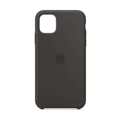 Apple Silikondeksel til iPhone 11 - Svart