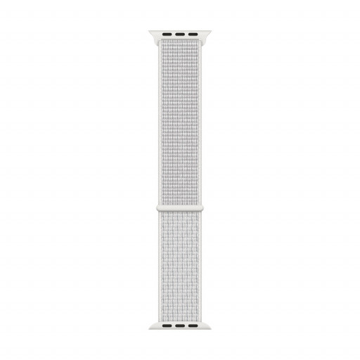Nike Sport Loop i Summit White til 40 mm Apple Watch
