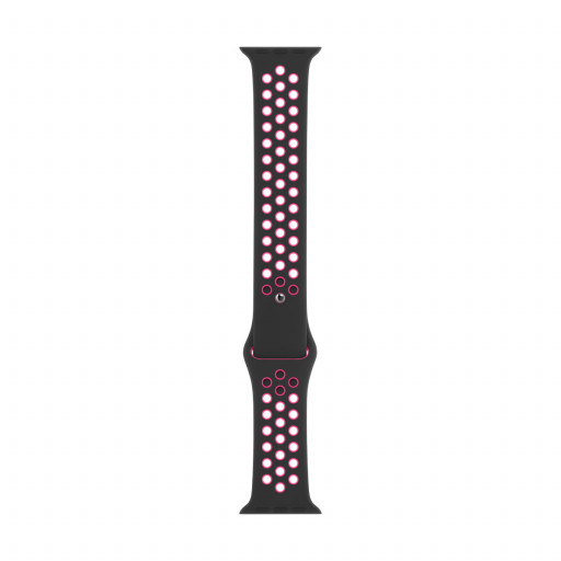 Nike Sport Band i Black/Pink Blast til 40 mm Apple Watch