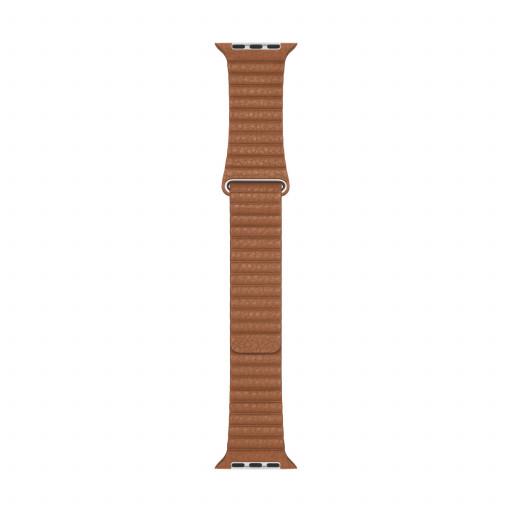 Apple Watch 44 mm Leather Loop (L) - Lærbrun