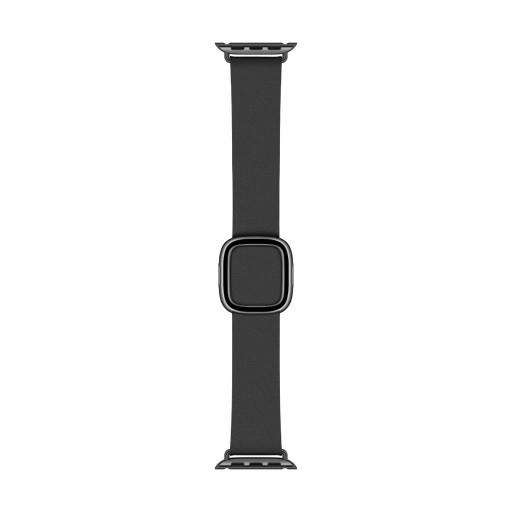 Large Modern Buckle i Svart til 40 mm Apple Watch