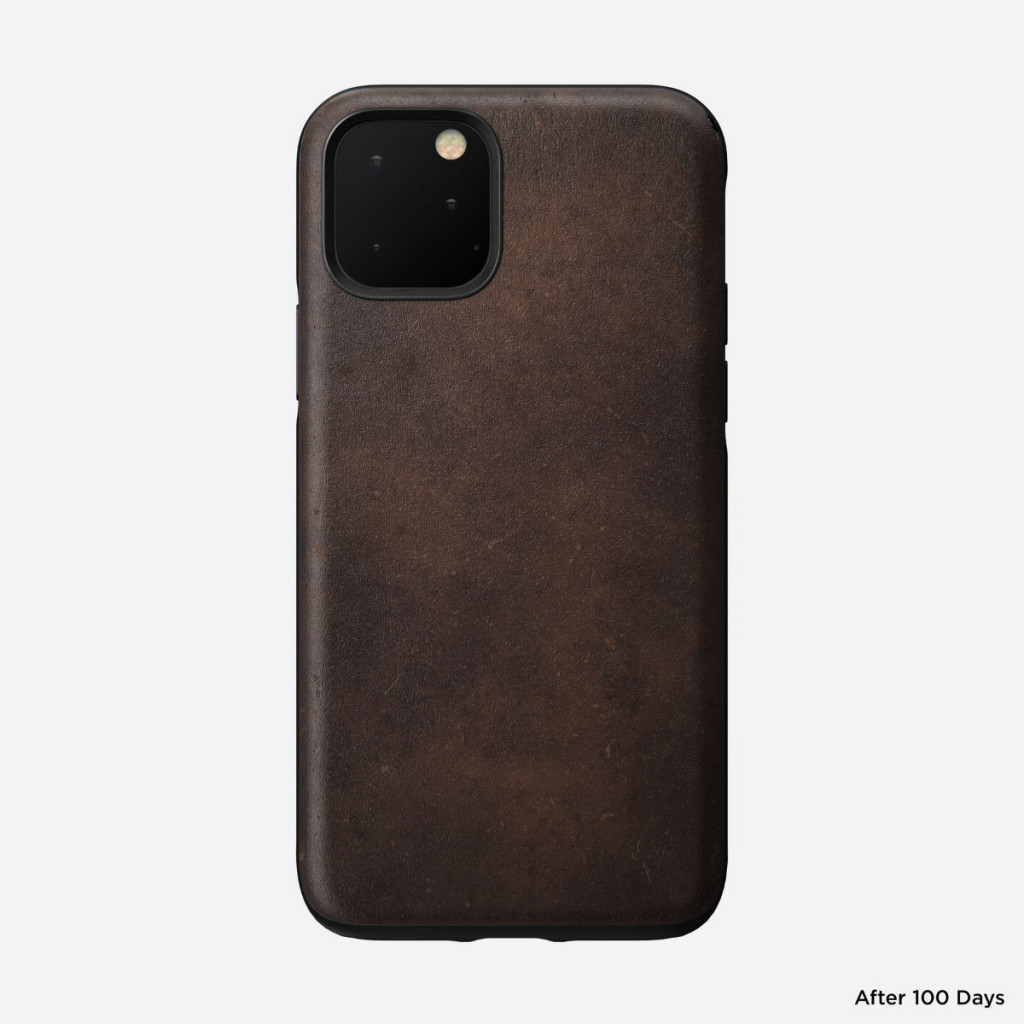 Nomad Rugged Case for iPhone 11 Pro - Brun