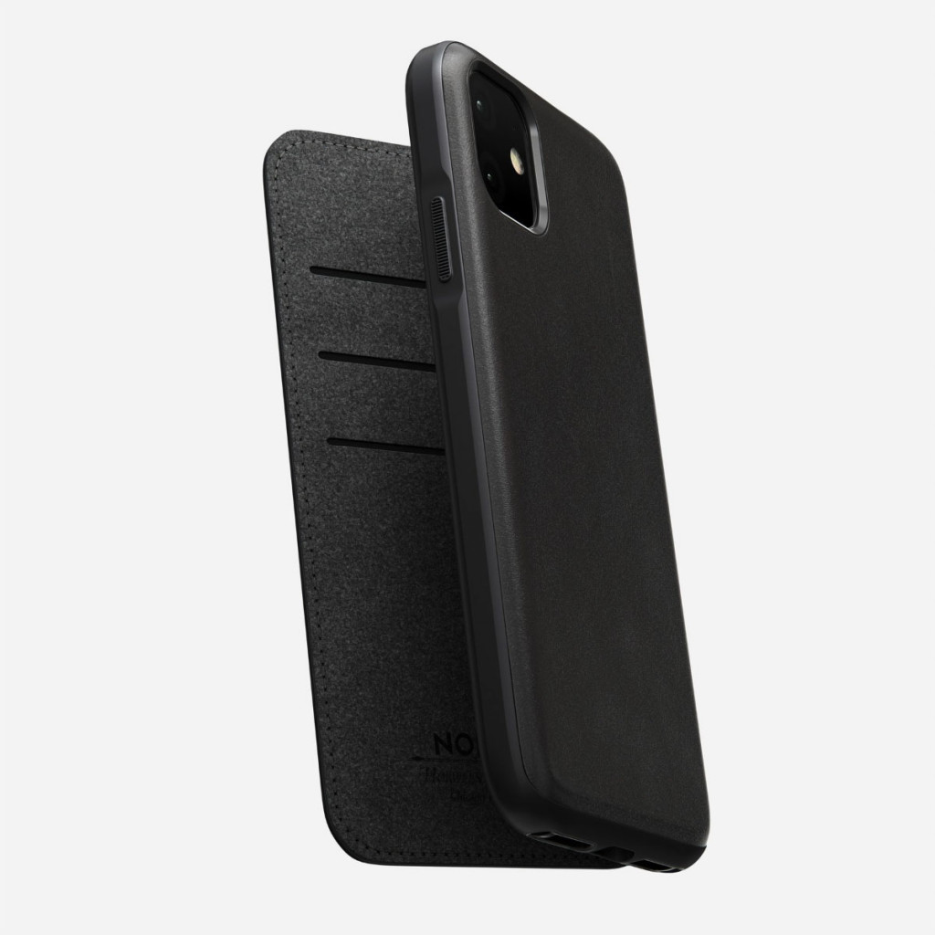 Nomad Rugged Folio for iPhone 11 - Svart