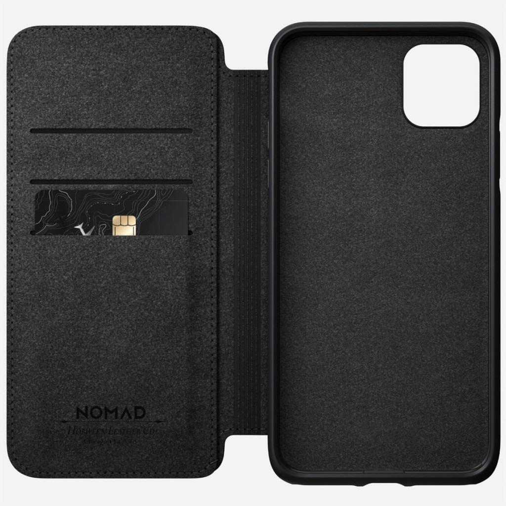 Nomad Rugged Folio for iPhone 11 Pro Max - Brun