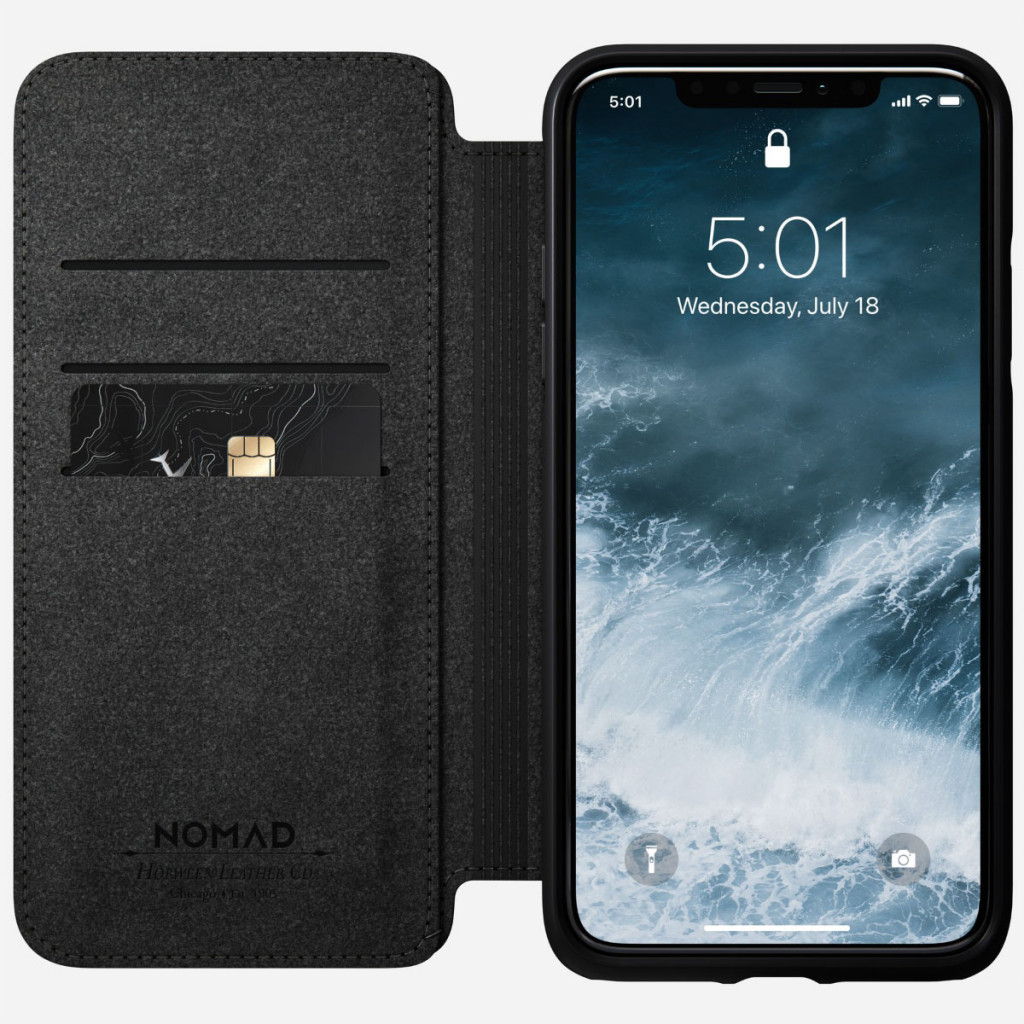 Nomad Rugged Folio for iPhone 11 Pro Max - Brun