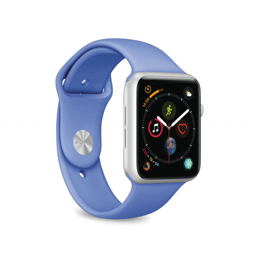 Puro Apple Watch rem, 44/42 mm - Forment Blue
