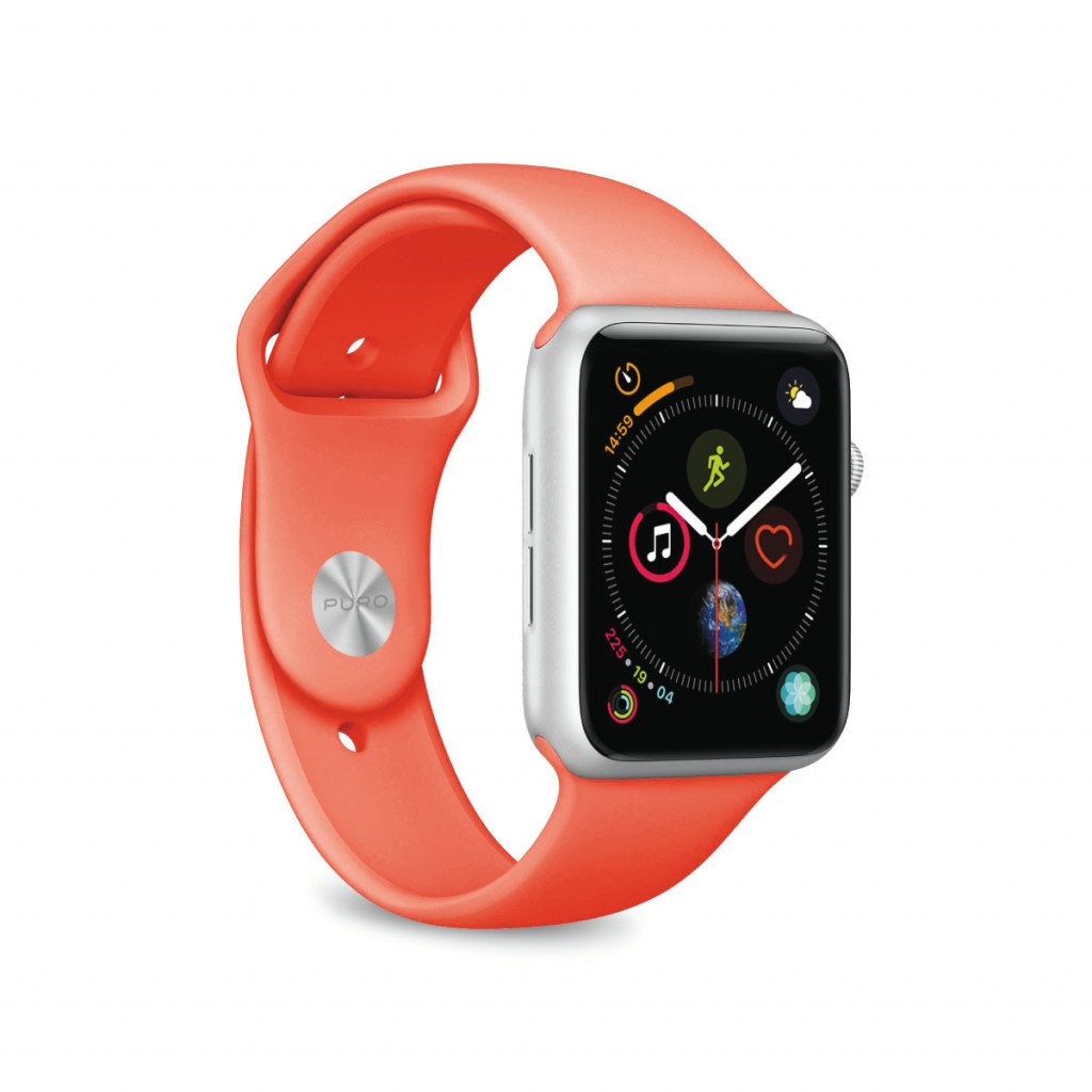 Puro Apple Watch rem, 44/42 mm - Living Coral