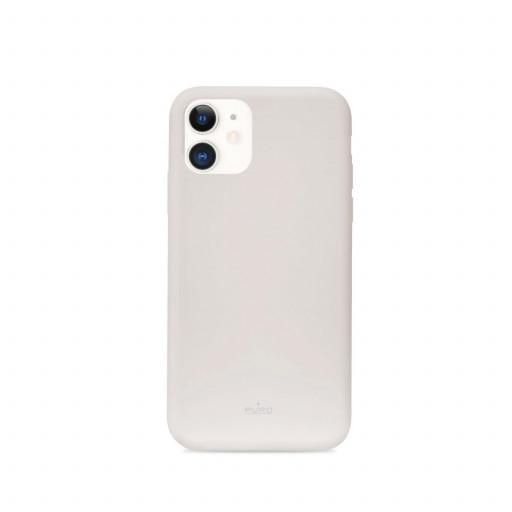 Puro Icon deksel til iPhone 11 - Lys Grå
