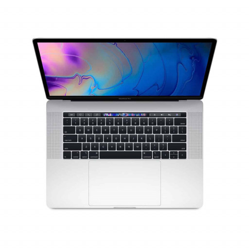 MacBook Pro 15″ Sølv med Touch Bar 2.6GHz / 16GB / 512GB