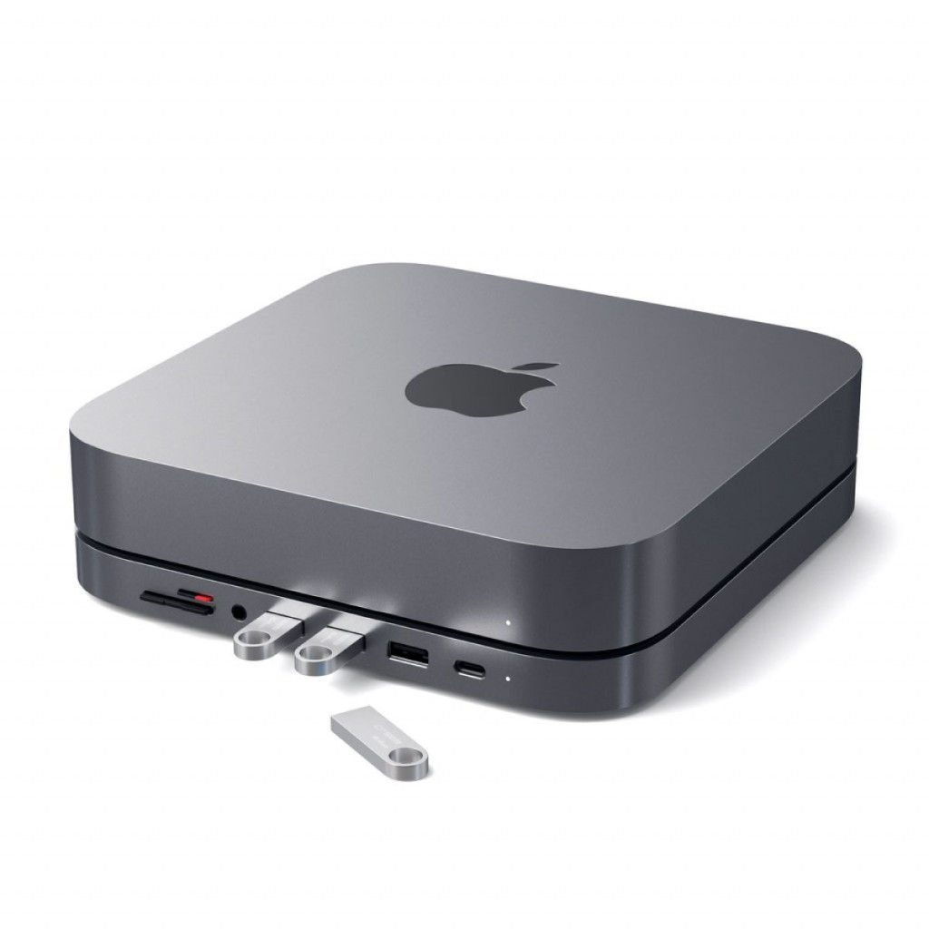 Satechi Aluminium Stand Hub for Mac Mini