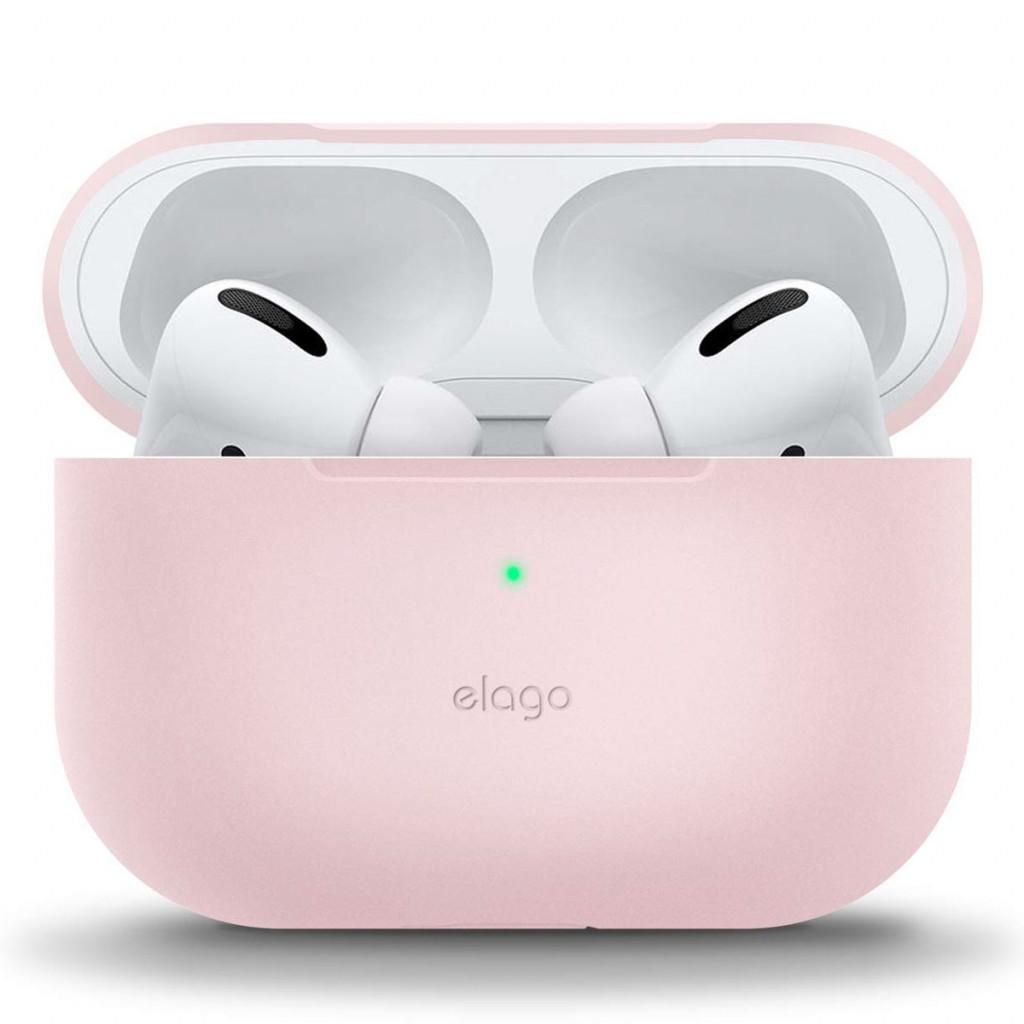 Elago Silikon Beskyttelsesetui til Airpods Pro - Rosa