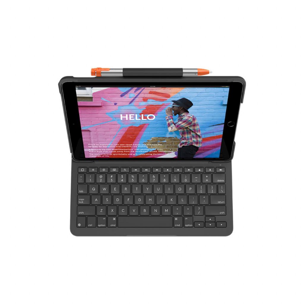 Logitech Slim Folio Keyboard cover for iPad 10.2-tommer