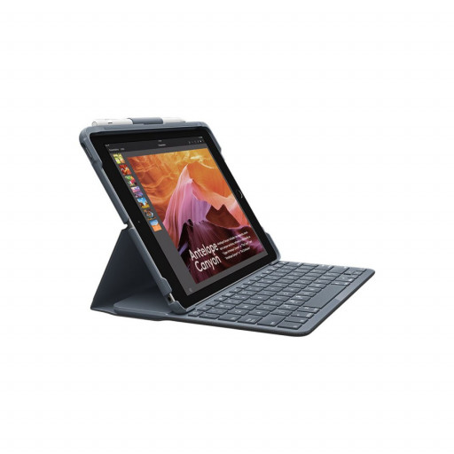 Logitech Slim Folio Keyboard cover for iPad 10.2-tommer