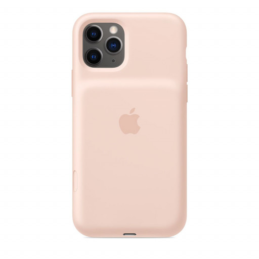 Apple Smart Battery Case til iPhone 11 Pro - Sandrosa