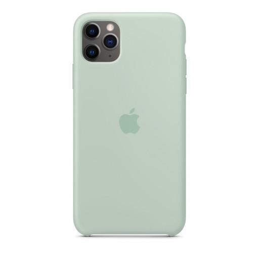 Apple Silikondeksel til iPhone 11 Pro Max - Beryl