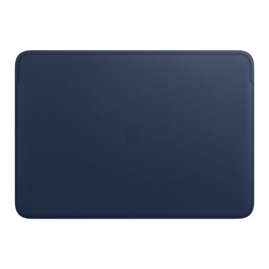 Leather Sleeve til 16-tommers MacBook Pro – Midnattsblå