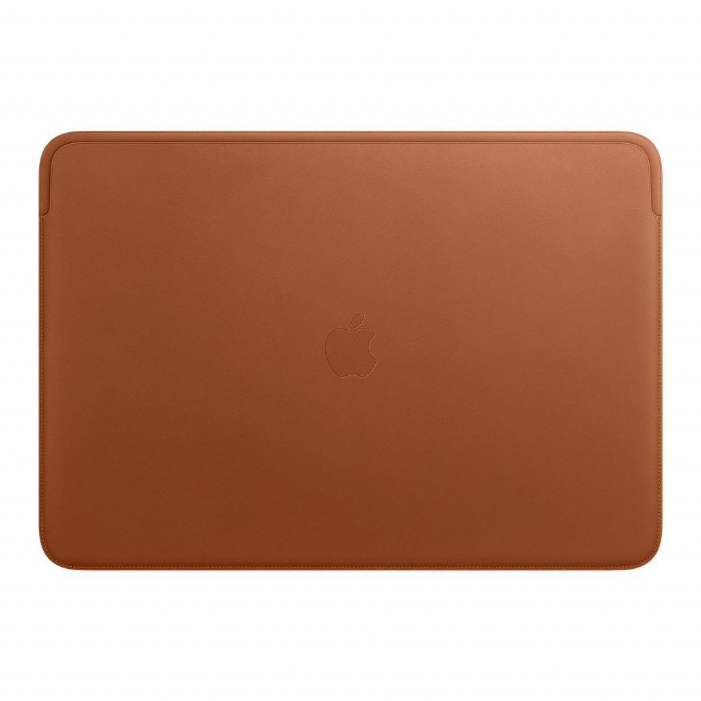 Leather Sleeve til 16-tommers MacBook Pro – Lærbrun