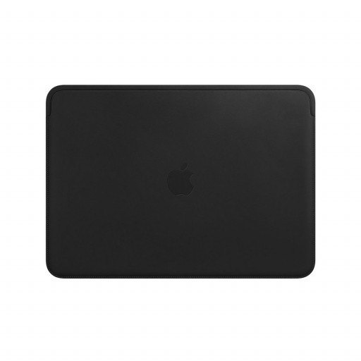 Leather Sleeve til 13-tommers MacBook Air og MacBook Pro – Svart