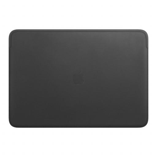 Leather Sleeve til 16-tommers MacBook Pro – Svart