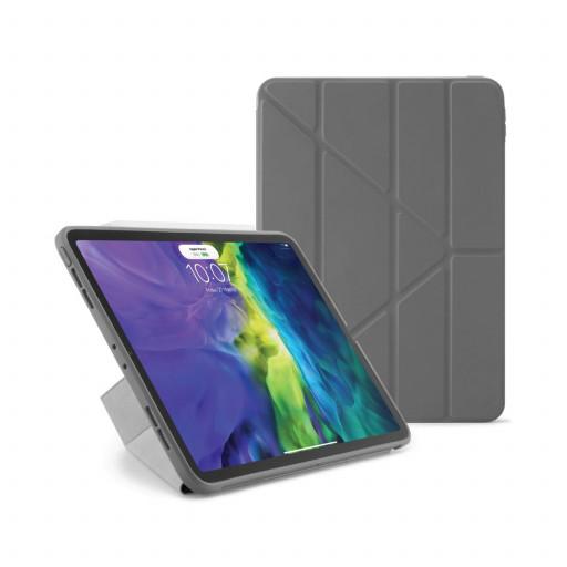 Pipetto Origami cover for iPad Pro 11-tommer (1. og 2. gen) - Mørkegrå
