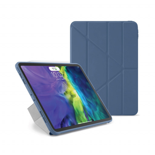 Pipetto Origami cover for iPad Pro 11-tommer (1. og 2. gen) - Marineblå