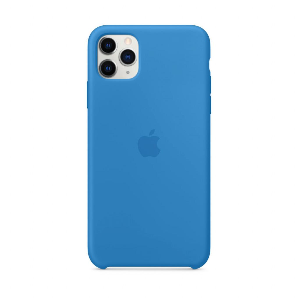 Apple Silikondeksel til iPhone 11 Pro Max - Bølgeblå
