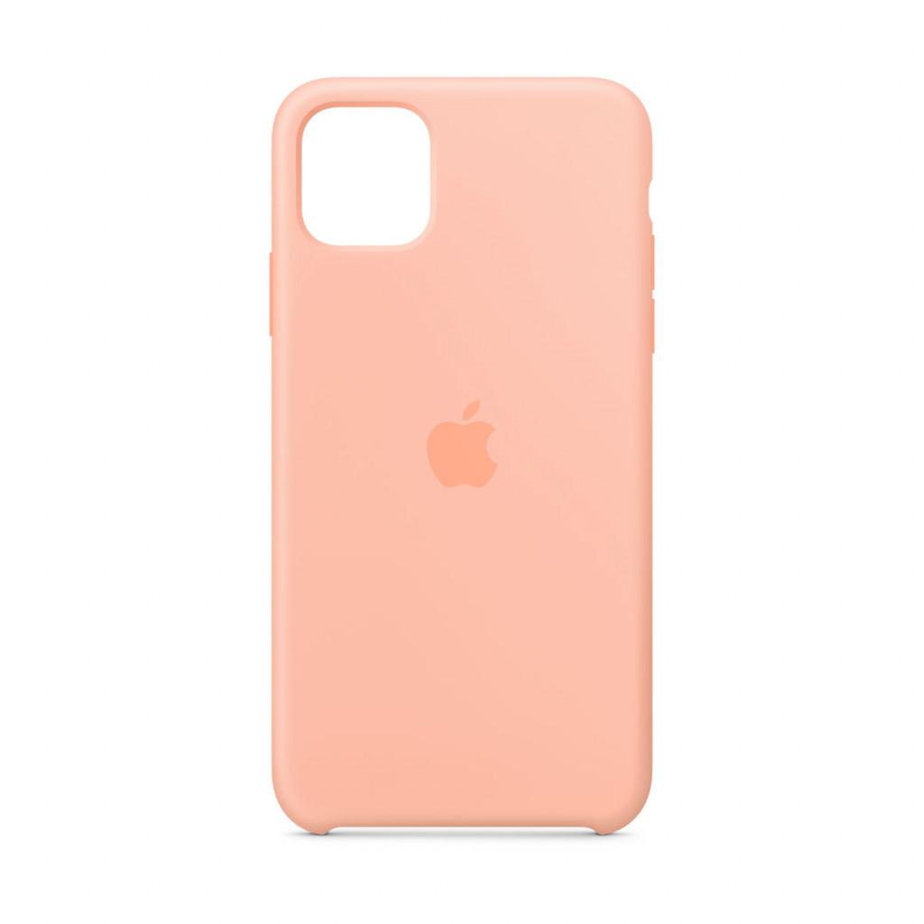 Apple Silikondeksel til iPhone 11 Pro Max - Grapefrukt