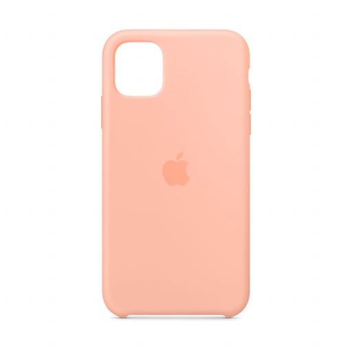 Apple Silikondeksel til iPhone 11 - Grapefrukt