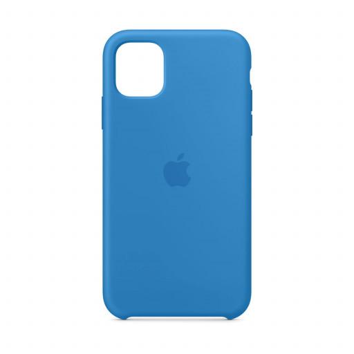 Apple Silikondeksel til iPhone 11 - Bølgeblå